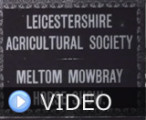 Leicestershire Agricultural Society - Meltom Mowbray Horse Show