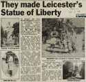 They made Leicester's Statue of Liberty