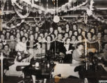 Photographs of Christmas celebrations, 'J' Department, N. Corah & Sons Ltd., 1960s