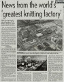 News from the world's 'greatest knitting factory' N. Corah & Sons