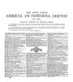 Post Office London Directory, 1914. [Part 3: Commercial & Professional Directory]