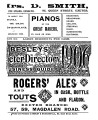 Besley's Exeter Directory & Business Guide, 1906-11