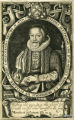 Engraved portrait of Francis White (1563/4–1638), bishop of Ely