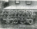 Possibly 1/5th Battalion Leicestershire Regiment before leaving for France