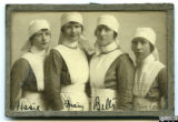 Group of unidentified nurses, World War I